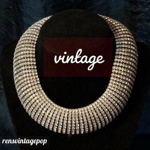 Vnth Rhinestone Necklace